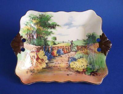 Royal Doulton 'Country Garden' Series Ware Dish D4932 c1934