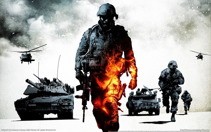 21 Battlefield: Bad Company 2 HD Wallpapers | Backgrounds