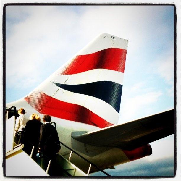British Airways Tailfin: Photo