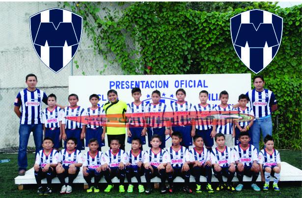 Escriben nueva historia el futbol en Solidaridad, filia de Monterrey