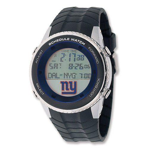 Mens NFL New York Giants Schedule Watch Jewelry Adviser Nfl Watches. $100.00