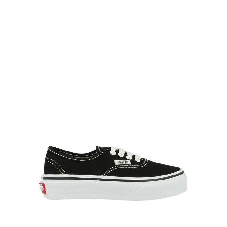 Gave Vans Kids Authentic Schoenen VEE0BLK (zwart) Sneakers van het merk Vans voor Kinder . Uitgevoerd in zwart gemaakt van . Check more at http://www.sneakers4u.nl/sneakers-online/vans-kids-authentic-schoenen-vee0blk-zwart-2/