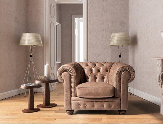 Chester Armchair Italian Leather Sofa Chester 1 Seater 2100