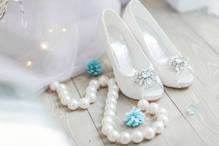 Vivabride lace wedding heels Crystal