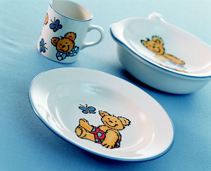 Coś dla dzieci, z takiej miseczki, z takiego kubeczka śniadanie będzie smakowało dużo lepiej. Twoja Jadalnia - Zeller Keramik.