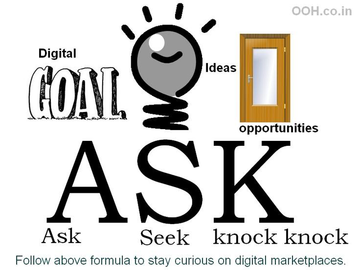 ASK = Ask + Seek + Knock knock