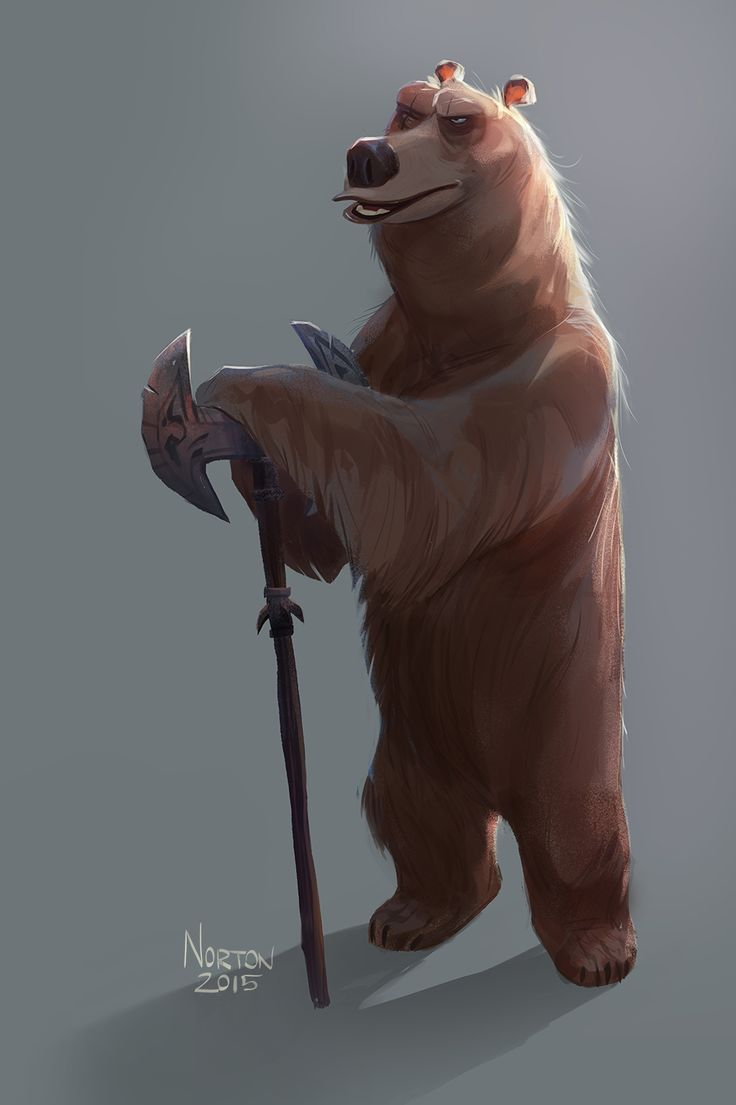 Battle Bear! I call him BB for short. Just experimenting.