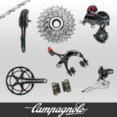 Campagnolo Centaur Red & Black Carbon Groupset