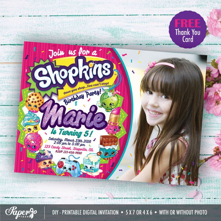 40% OFF! Shopkins Invitation, Printables Shopkins Party, Shopkins Birthday, Shopkins invitations, Shopkins Invite, Shopkins Decoration by PaperPlaceRD on Etsy https://www.etsy.com/au/listing/451454870/40-off-shopkins-invitation-printables