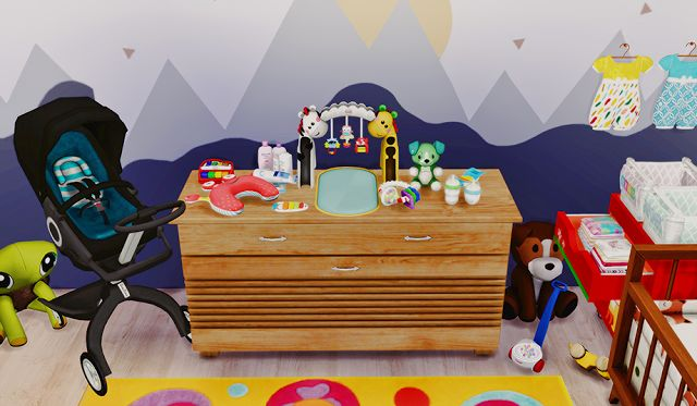 Sims 4 Cc S The Best Nursery Clutter By Dreamteamsims