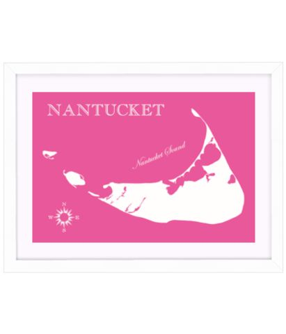 Nantucket Map Print from Design Darling, the online shop of one of my favorite bloggers Mackenzie Horan
