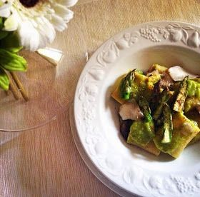 Ziggy in the kitchen: Paccheri primavera