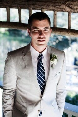 Groom khaki suit
