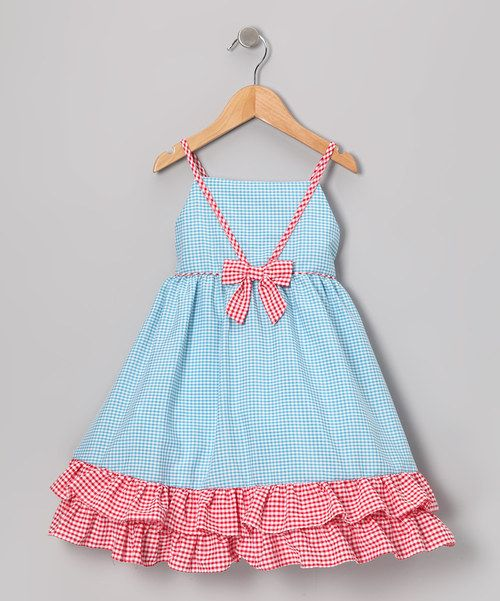 This charming frock will look smartly sweet on any little lady. Kissed with ruffles, a handy back closure and big bow accent, this playful piece is one genius style choice.100% cottonMachine washMade in the Philippines