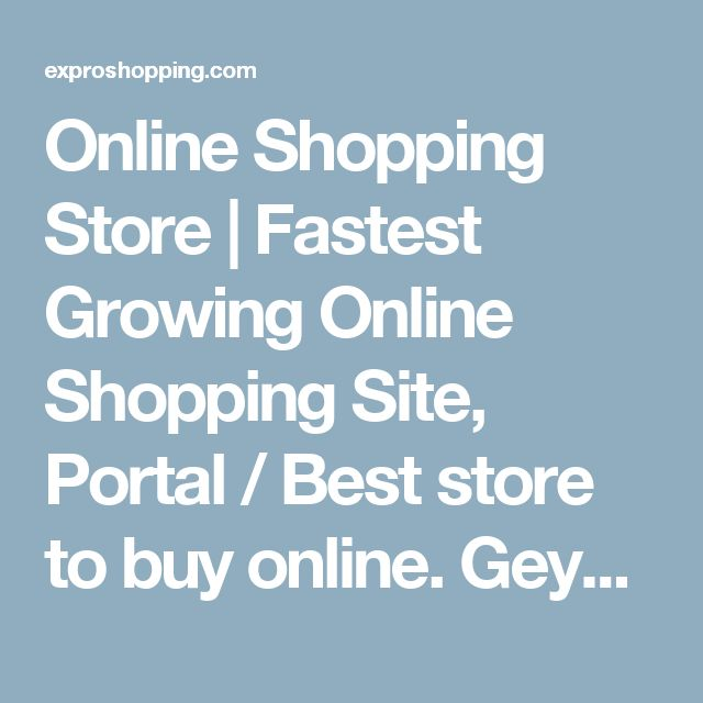 Online Shopping Store | Fastest Growing Online Shopping Site, Portal / Best store to buy online. Geysers & Electric Geysers | Complete range of all kinds of Geysers and other electronic products are here at Expro shopping