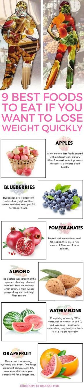 9 best foods to eat if you want to lose weight fast. – James Washington