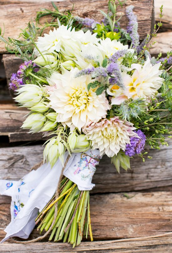 """A """"just picked"""" bouquet"""
