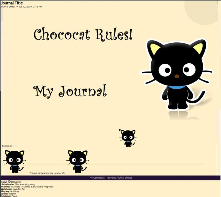 I love the colors, and I love chococat☺️