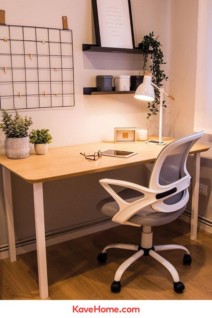 Chaise De Bureau Tangier Gris Kave Home En 2020 Bureau Minimaliste Idee Deco Bureau Chaise Bureau