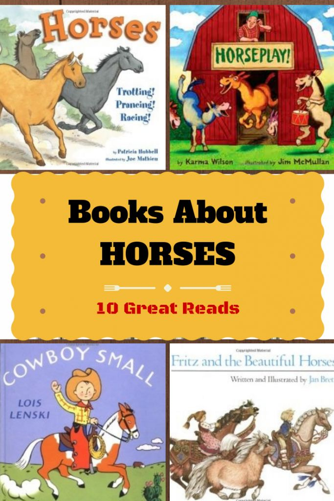 During college, I worked at children's book store (lucky me!).   We always kept book lists to help customers.  One of the most popular requests was for books about horses.  At the time, there were not a lot of books for young children that were about horses.  Well, that has changed!   Since it's almost Kentucky Derby time …