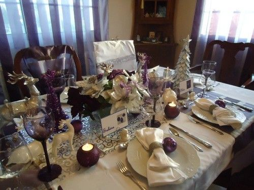 100 beautiful Christmas table decorations