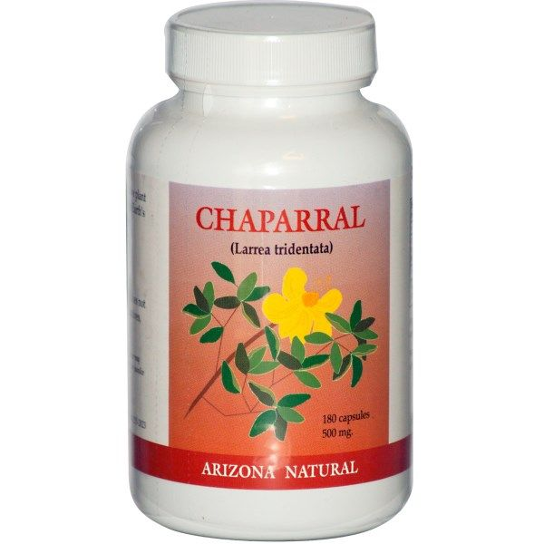 Arizona Natural, Chaparral, 180 Capsules