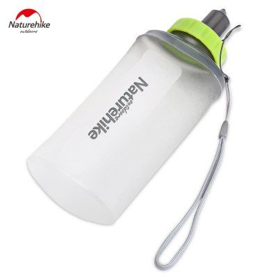 Just US$6.2 + free shipping, buy NatureHike Silicone Mouth Piece Sports Folding Water Bottle online shopping at GearBest.com.