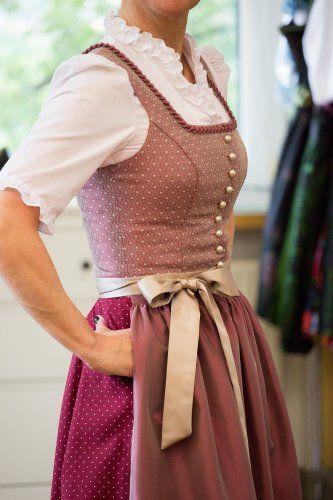 Dirndl Bernadette 80 cm - Dirndl - Damen - Country Hotel Kleidung - Dirndl - Trachtenmode - Landhausmode und mehr