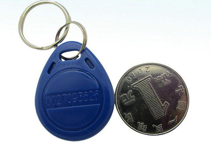 Hot Selling 100 Pcs Waterproof Id Keyfobs Rfid Tag 125khz Proximity Token Key Ring Card Access Control Attendance Card C27 Rfid Nfc Sticker Rfid Tag