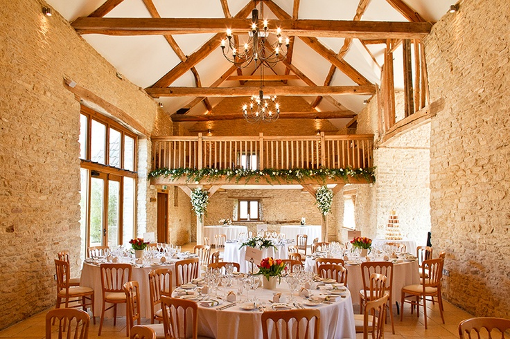 Kingscote Barn - A secluded and stunning wedding venue within its own valley in Gloucestershire
