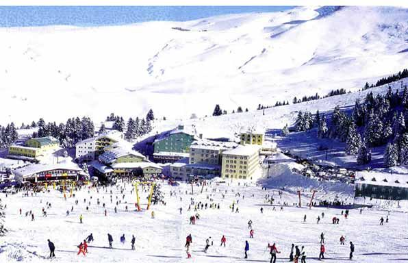 Uludag, Turkey, a ski resort. This where I actually learned to ski.