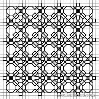 free blackwork pattern | Blackwork Design Development: Further Variations