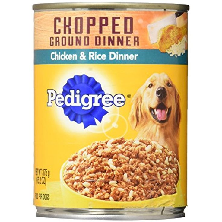 Pedigre chicken and rice pet food 132 oz you can click