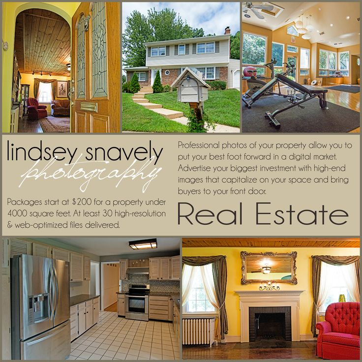 real estate photography marketing flyer {Lindsey Snavely ...