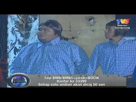 Afdlin Shauki & Bocik - Lawak Kembar Bangladesh - http://atosbiz.com/afdlin-shauki-bocik-lawak-kembar-bangladesh/