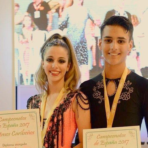 @ada295 y @yoyicruz subcampeones de España Júnior de Bailes Caribeños y primeros en salsa cubana. Felicidades Chicos!!! #moovett #ourense #febd #salsa #bachata #merengue #caribeños #campeonatoespañacaribeños #laeliana #salsaon2 #salsacubana #orense #ourensemola #adayjoel #latinos