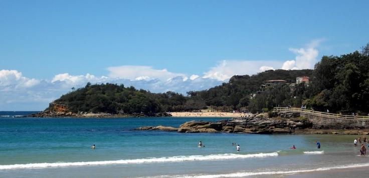 View of Shelly Beach, Sydney, from manly