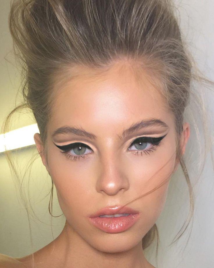 #cutcrease @benjaminiruimi @mc2telaviv Makeup @ortalelimeleh #eyeliner #makeup #…