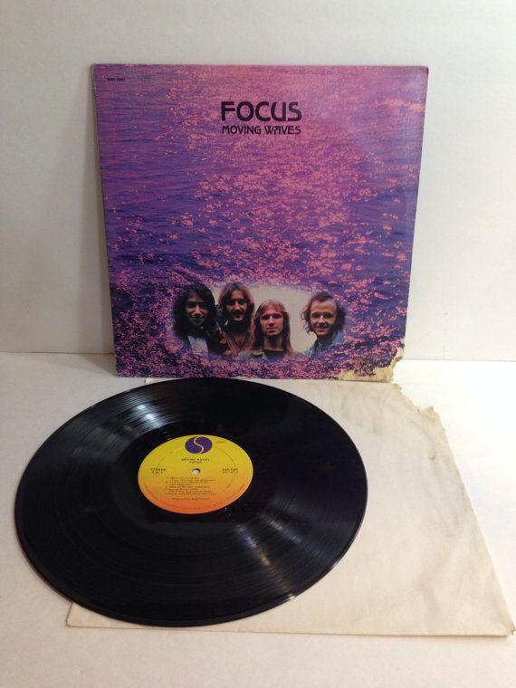 Focus Moving Waves Vintage Vinyl Record Album lp 1972 Sire Records SAS 7401 by NostalgiaRocks