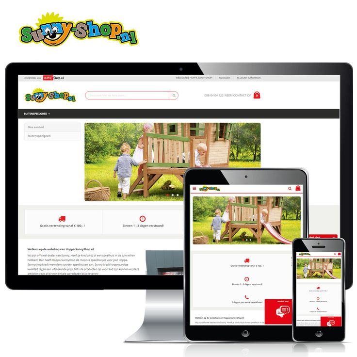 www.Hoppa-Sunnyshop.nl – Vernieuwde webshop met het merk van Sunny. Heeft je kind altijd al een speelhuis in de tuin willen hebben? Dan heeft Hoppa-Sunnyshop de mooiste speelhuisjes voor jou! Hoppa-Sunnyshop biedt meerdere soorten speelhuizen aan. Sunny biedt hoogwaardige kwaliteit tegen een uitstekende prijs.   Volg Hoppashops ook op: Instagram - https://www.instagram.com/hoppashops/