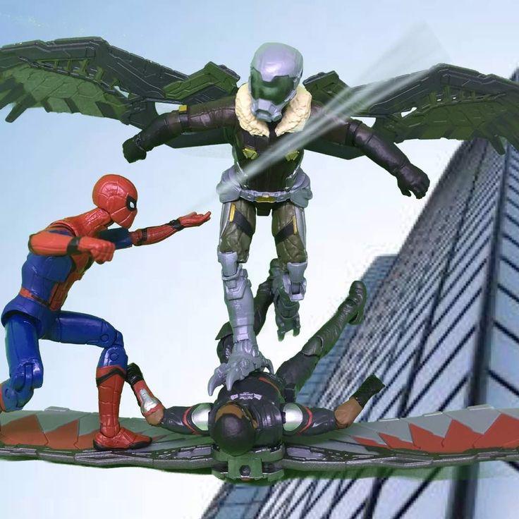 Vulture vs spiderman