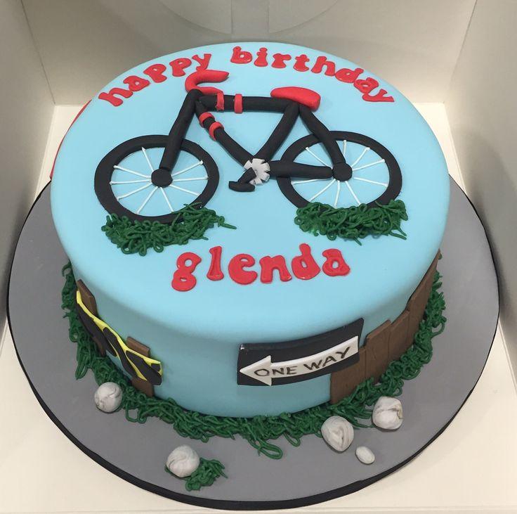 Birthday Cake Bicycle Theme