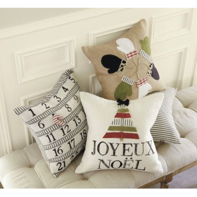 Throw Pillows Ballard Design : 17 Best images about Christmas Pillows on Pinterest Cute pillows, Needlepoint pillows and ...