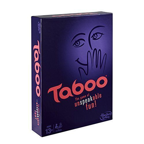 Taboo Board Game Family All Ages Playing Christmas Birthday Gift Guess Words NEW #TabooBoardGame