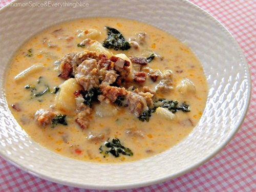 Zupa toskańska // Tuscany soup #soup #zupa #restaurant #Italy