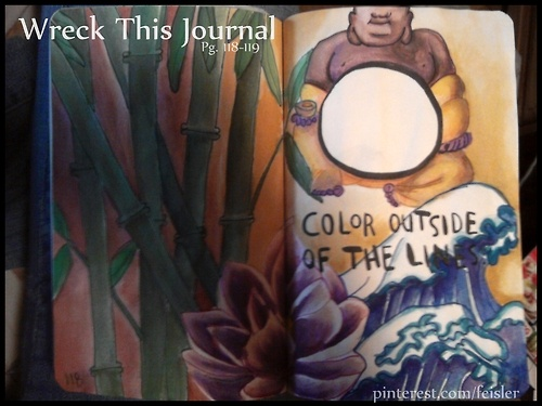 Color Journal Ideas : 20 best wreck this journal ideas images on pinterest