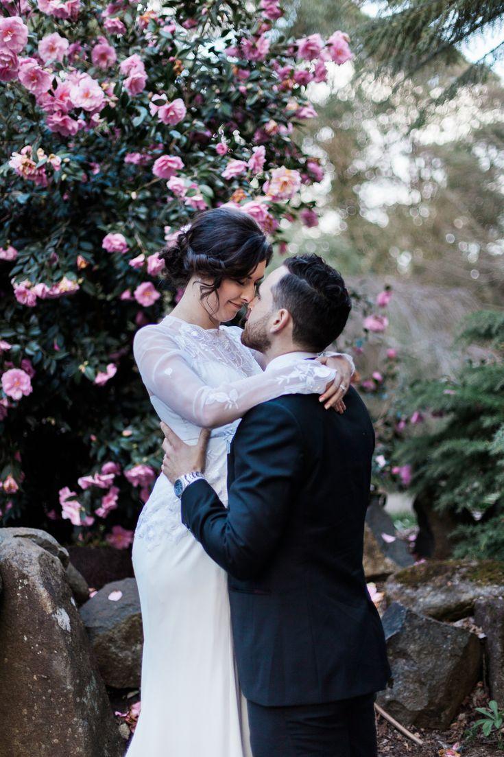 Nicole and Daniel celebrate romantic wedding in beautiful