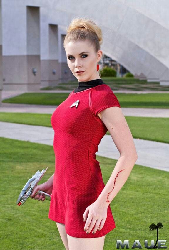 Gotta get a Star Trek outfit http://www.moviescostume.com/the-female-duty-uniform-red-dress-costume-for-star-trek-cosplay.html