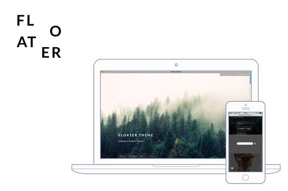 Floater is a refined Tumblr theme which works great for various purposes such as personal blogs, photo blogs or business blogs. All post types are supported, including photo sets, panoramas,