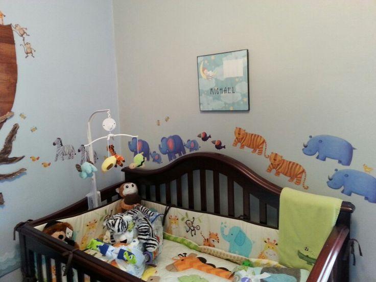 Noah's Ark theme baby nursery -Michael Lechowski